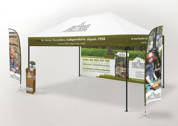 display plv bois foret